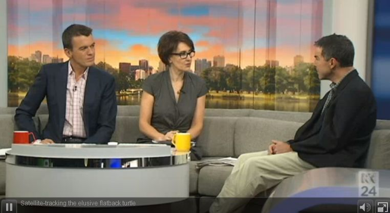 Prof Graeme Hays on ABC News (6 May 2014) – Satellite