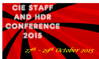 CIE Staff and HDR Conference 2015