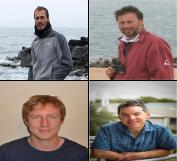 Alastair B., John A., Fredrik C. and Graeme H.