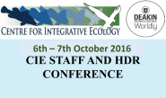 CIE Conference 2016