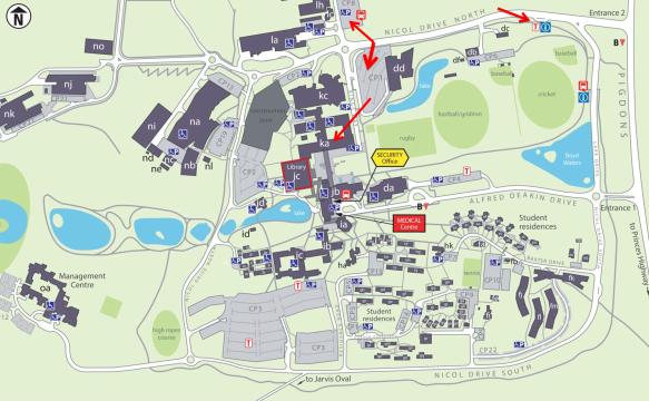 Event Parking Map